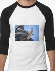 Hawk in Flight Men's Baseball ¾ T-Shirt