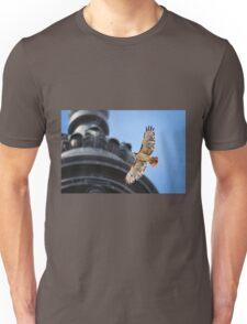 Hawk in Flight Unisex T-Shirt
