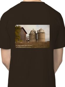 Two Silo's Talking About The Barn Classic T-Shirt