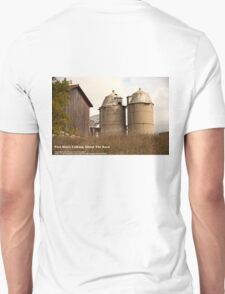 Two Silo's Talking About The Barn T-Shirt