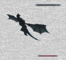 Skyrim - Dragon flying. by Anarchysmaster