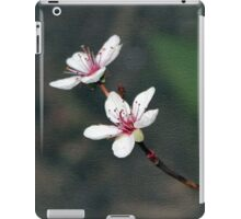 Purple Leaf Sand Cherry Book Cover iPad Case/Skin