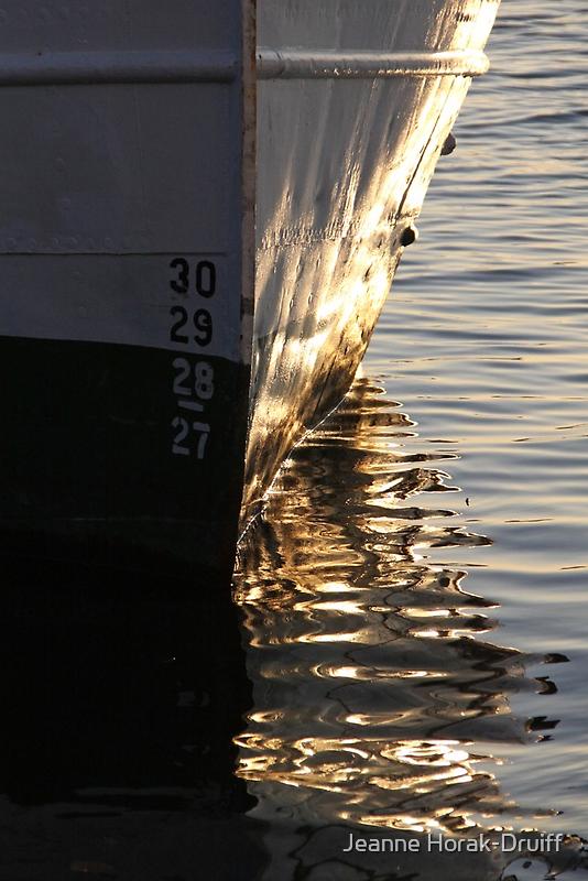 Gothenburg quayside reflections by Jeanne Horak-Druiff