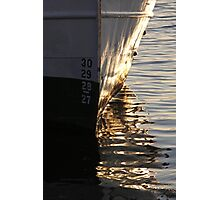 Gothenburg quayside reflections Photographic Print