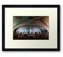 Chapel in the Basilica of Ste Anne de Beaupre, Quebec Framed Print