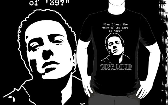 Joe Strummer - SING LOUD by Earth-Gnome