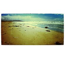 Vintage Mission Beach Framed Photographic Print