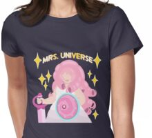 Mrs. Universe Womens Fitted T-Shirt