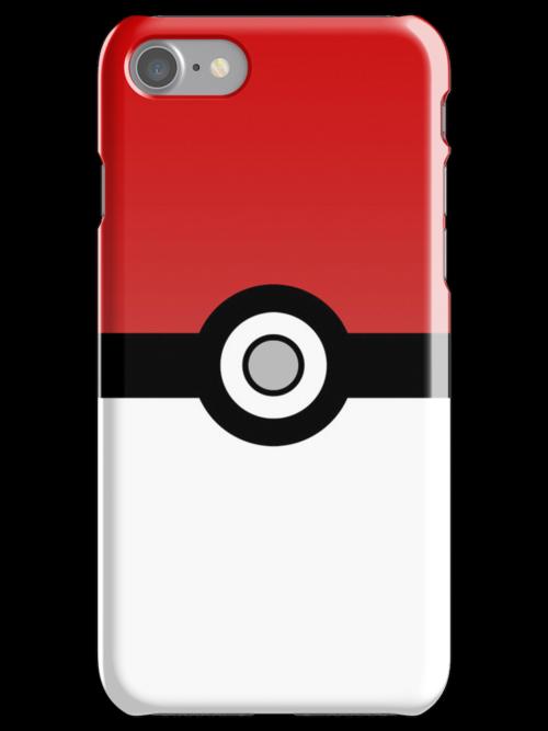 Pokéball i-Device Case by AndrewBerry