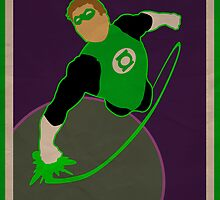 Green Lantern by Omnibit
