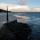 Moville Pier, Ireland by Sarah Cowan