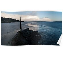 Moville Pier, Ireland Poster