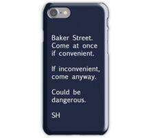 Sherlock Messages - 7 iPhone Case/Skin