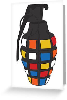 Rubik's Grenade by yelly123