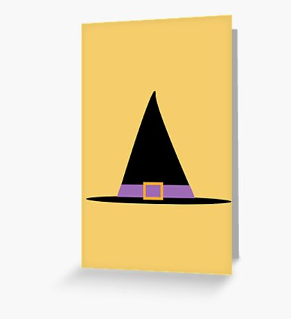 Witches Hat Greeting Card