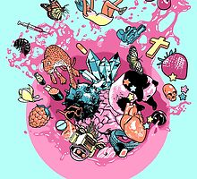Exploding Gumball (Bubble Glum) by Ross Murray