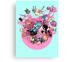 Exploding Gumball (Bubble Glum) Canvas Print