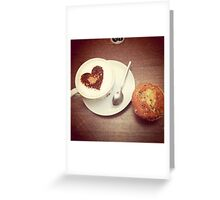 Love and a Muffin Greeting Card