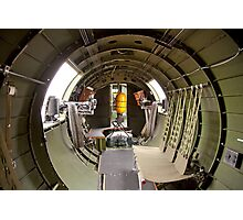 Waist guns of a B-17 Flying Fortress Photographic Print