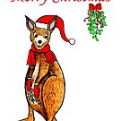Christmas Kangaroo by Linda Callaghan