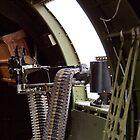 50 cal Waist Gun on a B-17 by bleriger
