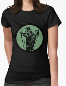 Sindarin Elf of the Woodland Realm Womens Fitted T-Shirt
