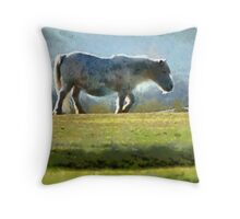 Four legs good, 2 legs bad Throw Pillow