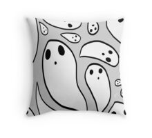 Spooky Scramble! (Ver. III) Throw Pillow