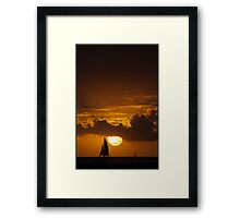 Two for a Sail Framed Print