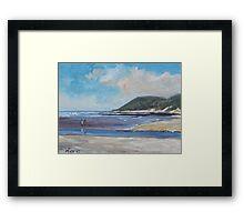 Landscape in Eastern Cape Framed Print