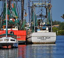 Shrimp Boats by joevoz