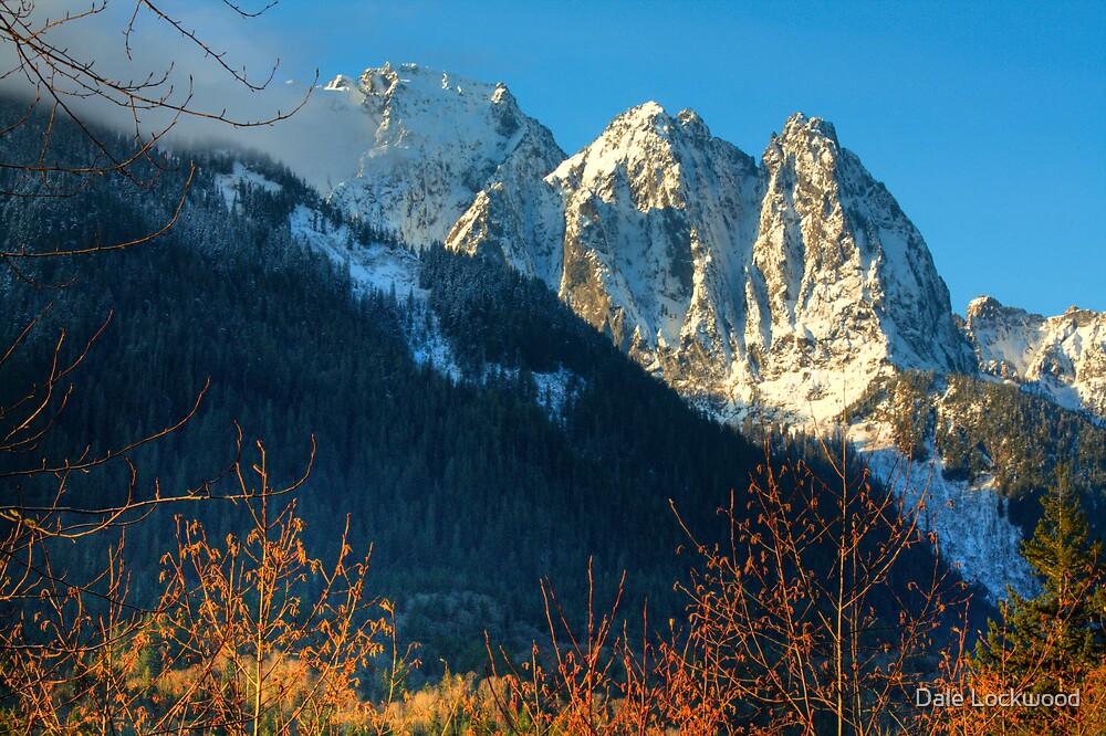 Sunrise on Mt. Index by Dale Lockwood