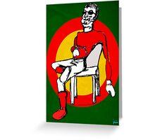 santa johnny Greeting Card