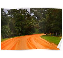 Dirt Road Poster