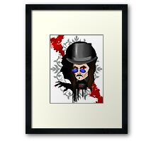 Dracula's Shadow Framed Print
