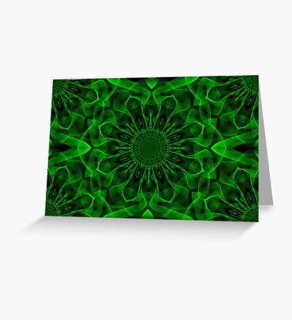 Emerald Fantasy II Greeting Card