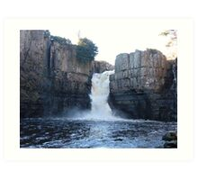 high force waterfall Art Print
