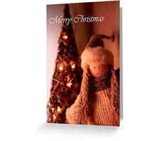 Cosy Christmas Card Greeting Card