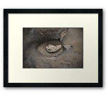 Rock & Stone Framed Print