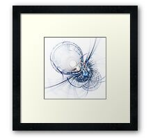 Like a hit between the eyes Framed Print