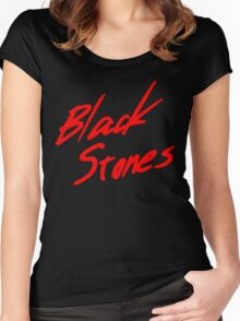 Black Stones (BLAST) Women's Fitted Scoop T-Shirt