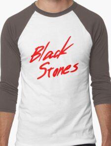 Black Stones (BLAST) Men's Baseball ¾ T-Shirt