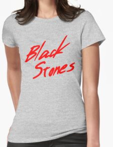 Black Stones (BLAST) Womens Fitted T-Shirt