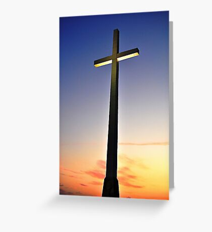 Cross Greeting Card