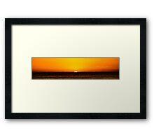 Sunrise at Cronulla Framed Print