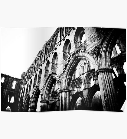 Rievaulx Abbey, North Yorkshire Poster