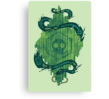 Green is the Color of Death Canvas Print