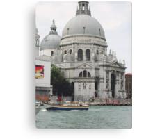 """Basilica """"S.Maria della Salute"""" città di VENEZIA - ITALY - EUROPA - VETRINA RB EXPLORE 6 DICEMBRE 2011 - - Canvas Print"""