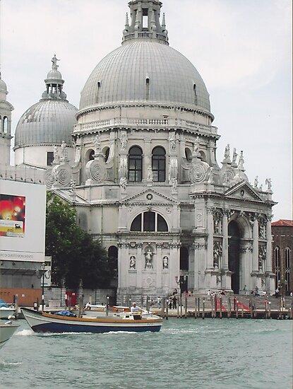 """Basilica """"S.Maria della Salute"""" città di VENEZIA - ITALY - EUROPA - VETRINA RB EXPLORE 6 DICEMBRE 2011 - - by Guendalyn"""