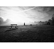 November Fog Photographic Print